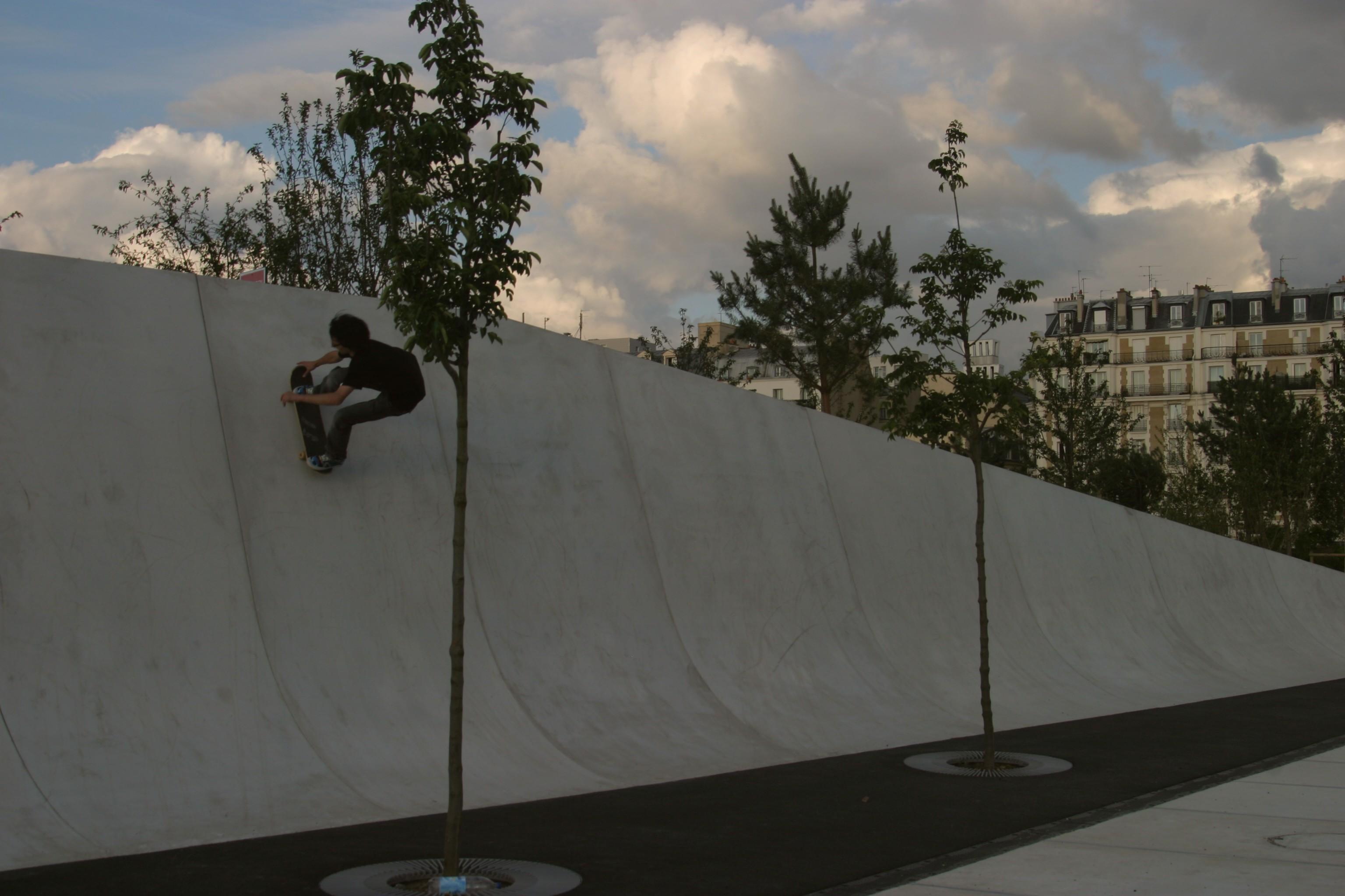Skate Park Quartier des Batignolles1