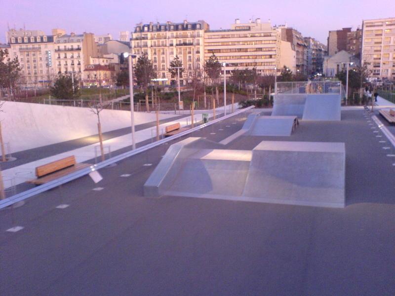Skate Park Quartier des Batignolles2