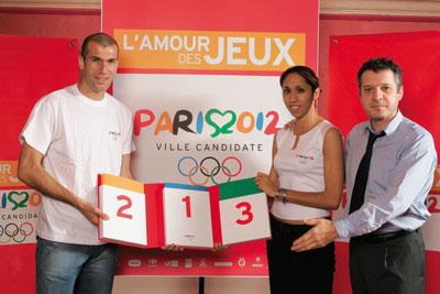 aidane annonce candidature Paris 2012