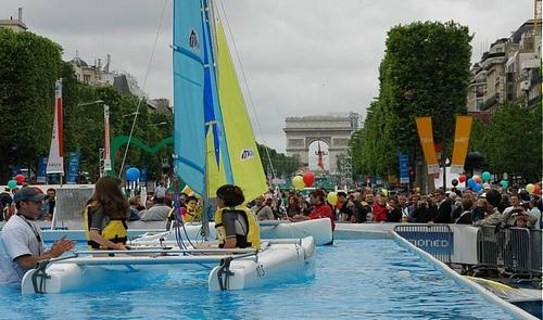 Les champs Elyssées Paris 2012
