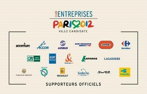 Club des Entreprises Paris 2012