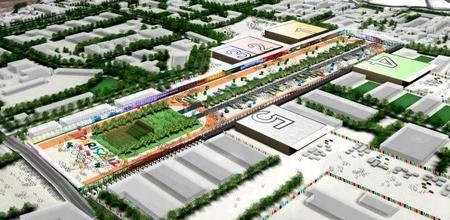 Les Pavillons multisports Paris 2012